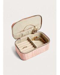 Estella Bartlett - Python Mini Jewellery Box - Lyst