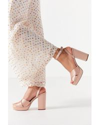 Urban Outfitters - Viv Cross-strap Platform Heel - Lyst