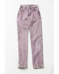 Urban Outfitters - Vintage Wrangler Purple Relaxed Jean – X-small - Lyst