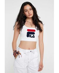 a2154995f73 Women's Fila Sleeveless and tank tops Online Sale - Lyst