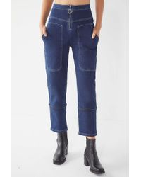 Urban Outfitters - Uo Max Contrast Stitch Straight Leg Jean - Lyst
