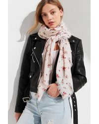 Urban Outfitters - Lightweight Woven Square Scarf - Lyst