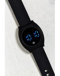Urban Outfitters - Uo Rubber Led Watch - Lyst