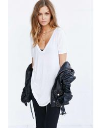 Truly Madly Deeply - Deep-v Tee - Lyst
