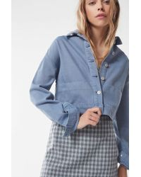 Urban Outfitters - Uo Cropped Utility Jacket - Lyst