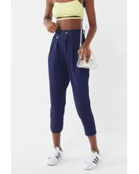 Urban Renewal - Remnants Twill High-rise Cropped Pant - Lyst