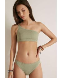 5246fdc0d0202 Out From Under Kai Triangle Bikini Top - Womens Xs in Metallic - Lyst