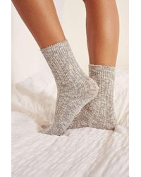 Out From Under - Essential Slub Socks - Womens S/m - Lyst