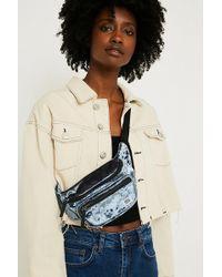 BDG | Light Blue Velvet Bum Bag | Lyst