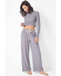 a831decacc Urban Outfitters Uo Satin Cargo Puddle Pant in Red - Lyst