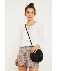 Urban Outfitters - Uo Orange Check City Shorts - Lyst