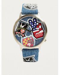 Guess - Originals Patchwork Watch - Lyst