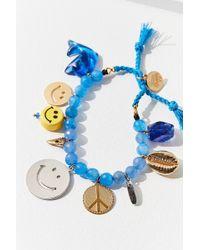 brand Venessa Arizaga - Venessa Arizaga Blue Hawaiian Bracelet - Lyst