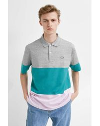 acc2883e Lacoste L!ive Sand Leopard Print Polo Shirt - Mens Xs in Brown for ...