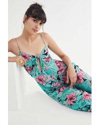 72c7c03c0d74 Cleobella - Angelina Hawaii Tie-front Jumpsuit - Lyst