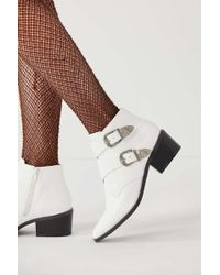 Urban Outfitters - Talia Buckle Ankle Boot - Lyst