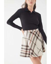 Urban Renewal - Vintage Plaid A-line Mini Skirt - Lyst