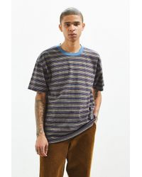 Urban Outfitters | Uo Engineered Stripe Tee | Lyst
