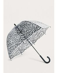 Urban Outfitters - Animal Print Bubble Umbrella - Womens All - Lyst