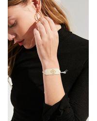 brand Venessa Arizaga - Venessa Arizaga Peace Beaded Bracelet - Lyst