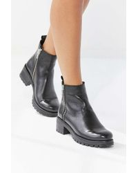 Urban Outfitters - Maci Zippered Ankle Boot - Lyst