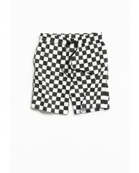Urban Outfitters - Uo Checkerboard Knit Short - Lyst
