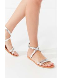 Urban Outfitters - Cleo Wrap Sandal - Lyst