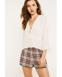 Urban Outfitters - Uo City Multi-check Shorts - Lyst
