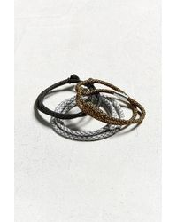 Urban Outfitters - Uo Paracord Bracelet 3-pack - Lyst