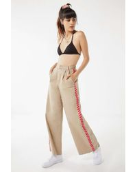 Lazy Oaf - Checkered Wide Leg Cargo Pant - Lyst