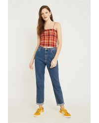 Wrangler - + Uo Tyler Cropped Tapered Jeans - Lyst