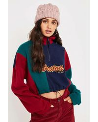 Urban Outfitters - Uo Boston Panelled Half-zip Track Top - Womens Xs - Lyst