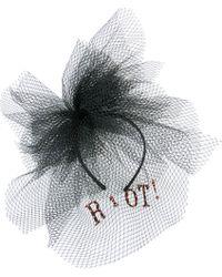 Victoria Grant - Riot Veil Headband - Lyst