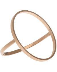 Uncommon Matters | Open Circle Rose Bracelet | Lyst