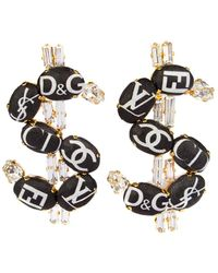 Bijoux De Famille | Fashion Dollar Earrings | Lyst