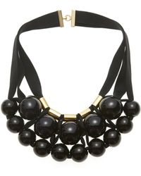 Marion Vidal - Ceramic Spheres Necklace - Lyst