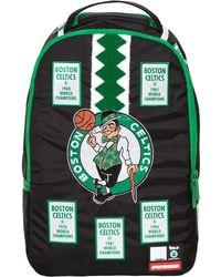 Sprayground - Nba Lab Celtics Banner Patches Backpack - Lyst