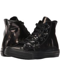 Converse - Chuck Taylor Brush Off Leather Hi - Lyst