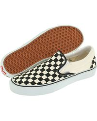 Vans - Checkerboard Slip-on - Lyst
