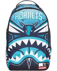Sprayground - Nba Lab Hornets Shark Backpack - Lyst
