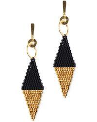 Velvet By Graham & Spencer - Athena Earrings By Bluma Project - Lyst
