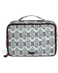 Vera Bradley - Iconic Large Blush & Brush Case - Lyst