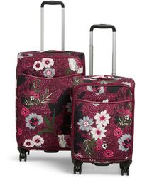 Vera Bradley - Spinner Luggage Set - Lyst