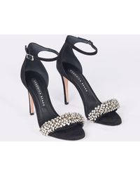 Veronica Beard - Rowena Embellished Strappy Sandals - Lyst