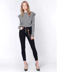 """Veronica Beard - Debbie 10"""" Skinny With Gold Chain - Lyst"""