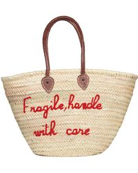 Veronica Beard - Fragile Handle With Care Bag Poolside Exclusive - Lyst
