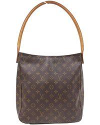 Louis Vuitton   Pre-owned Looping Cloth Handbag   Lyst