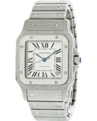 Cartier - Santos Galbée Watch - Lyst