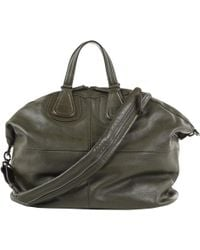 Givenchy - Pre-owned Khaki Leather Bags - Lyst