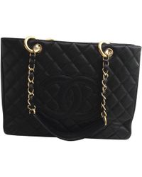 Chanel - Pre-owned Grand Shopping Leather Handbag - Lyst